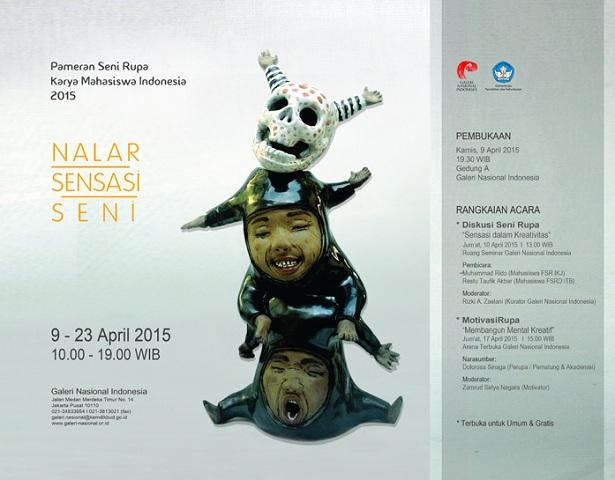 Pameran Seni Rupa Karya Mahasiswa Indonesia 2015