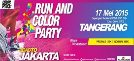 Run & Color Party Tangerang 2015