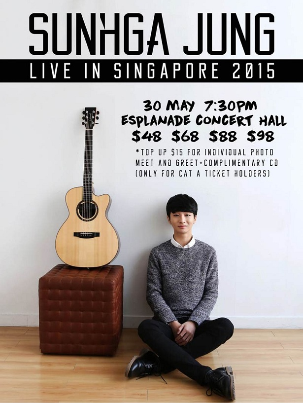 Sunhga Jung Live in Singapore 2015