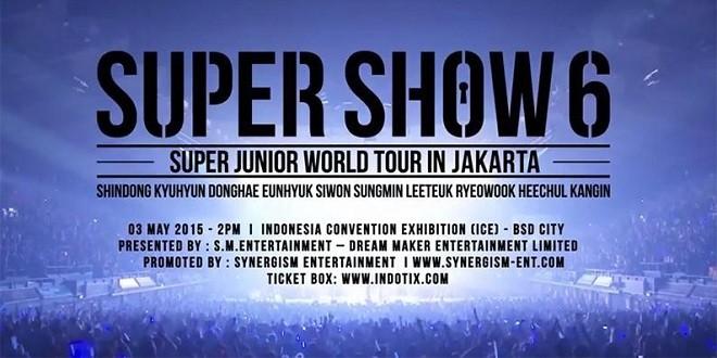 Super Junior 'Super Show 6′ World Tour in Jakarta