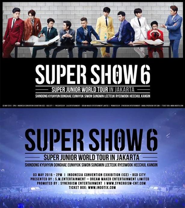 Super Junior World Tour in Jakarta 2015
