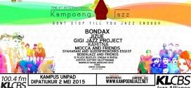 The 7th International Kampoeng Jazz Siap Dihelat Awal Mei