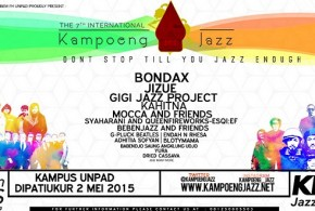 The 7th International Kampoeng Jazz Siap Dihelat Awal Mei