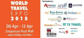 Cari Promo Liburan di World Travel Expo 2015
