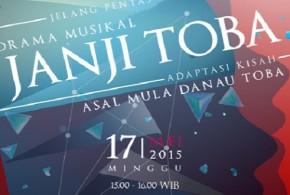 Jelang Pentas Drama Musikal Janji Toba