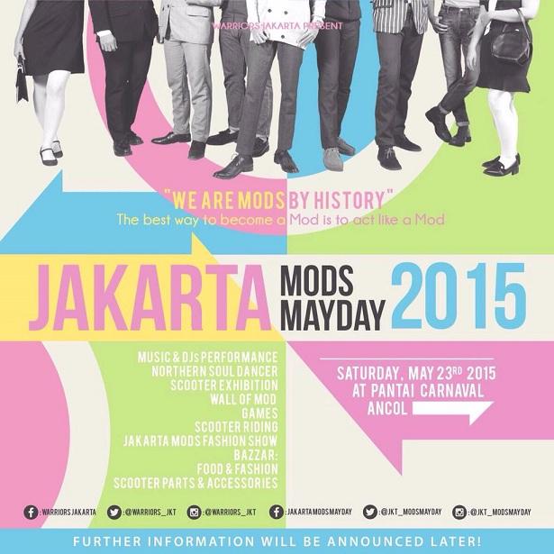 Jakarta Mods Mayday 2015