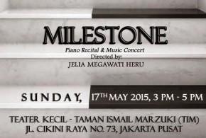 Milestone, Resital Piano dan Konser Musik