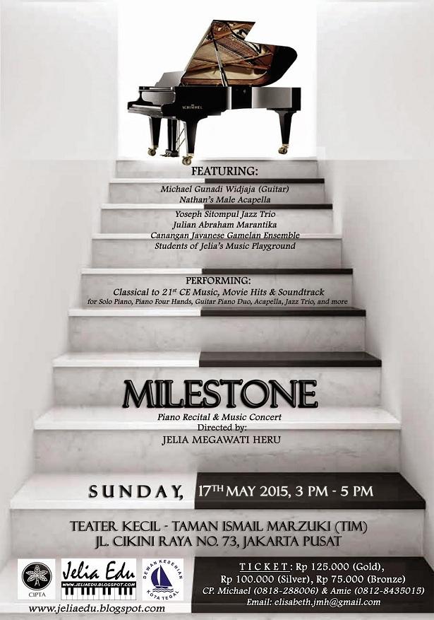 Milestone Piano Recital & Music Concert
