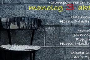 Pertunjukan Monolog 3 Aktor By Teater Kami