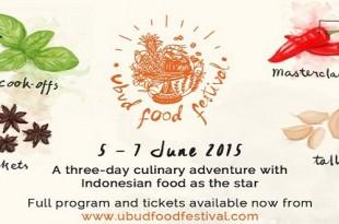 Ubud Food Festival 2015