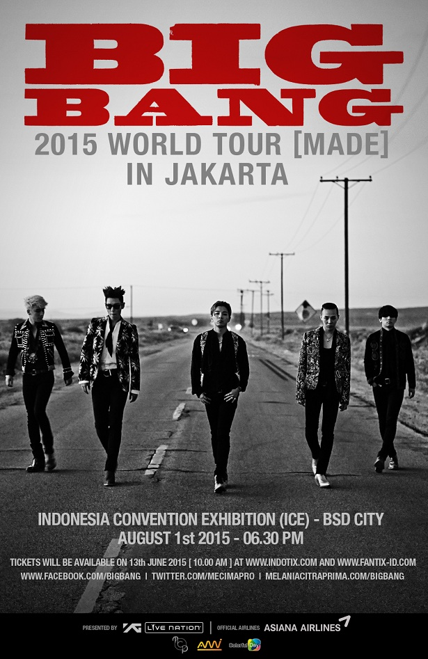 Big Bang World Tour 2015