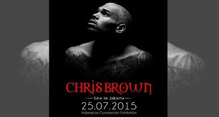 Chris Brown Live in Jakarta 2015