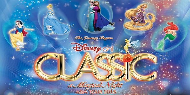 Disney On Classic a Magical Night Asia Tour 2015