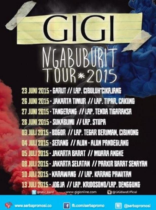 Gigi Ngabuburit Tour 2015