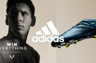 Messi's Shoes For Final Champion