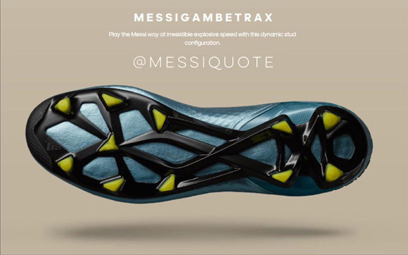 Messi's Shoes For Final Champion1
