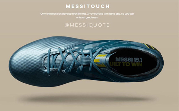Messi's Shoes For Final Champion2