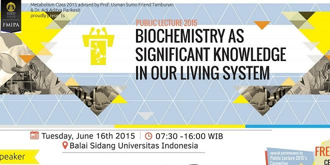 Public Lecture 2015