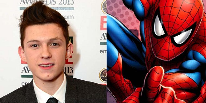 Tom Holland The New Spiderman