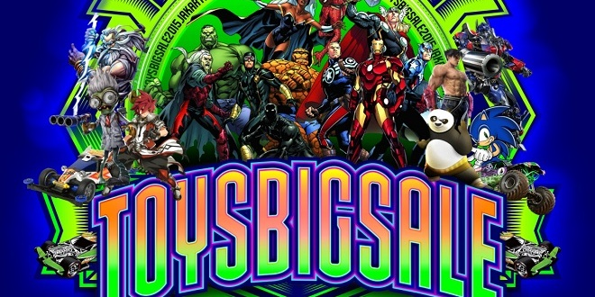 Toys Big Sale Jakarta 2015