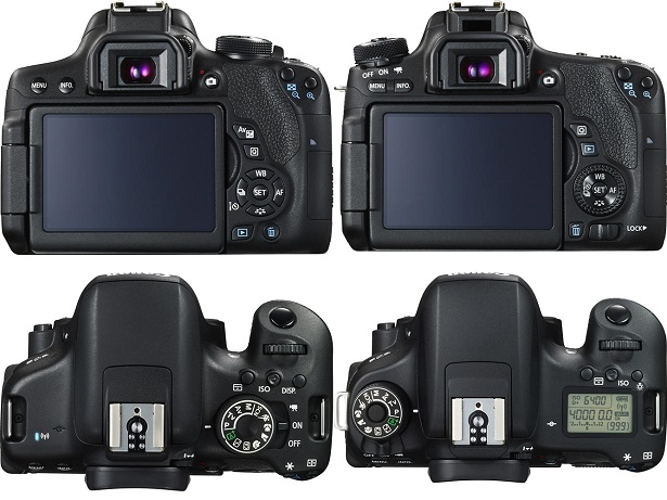 Canon 750d & 760d