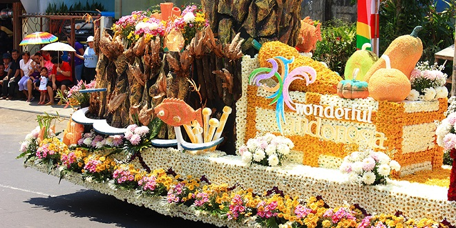 Festival Bunga Internasional 2015