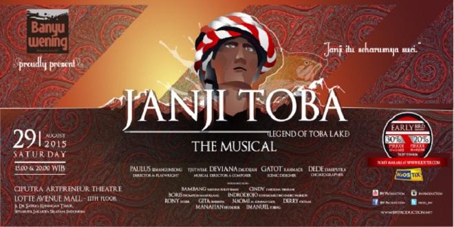 Janji Toba Theatre Musical