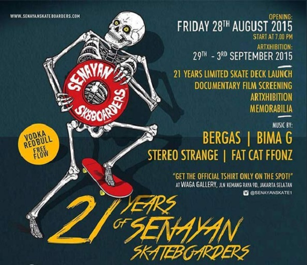 21 Years of Senayan Skateboarders