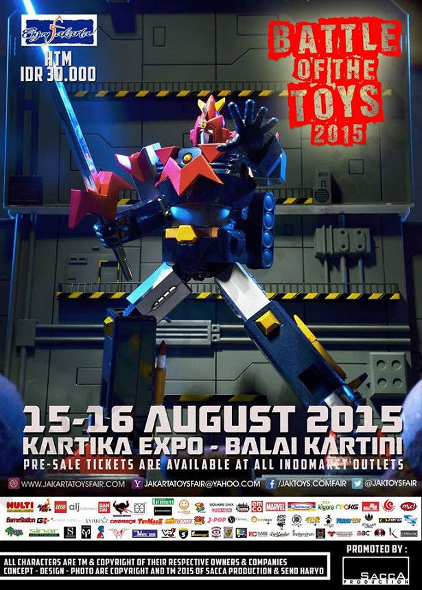 Battle of The Toys 2015