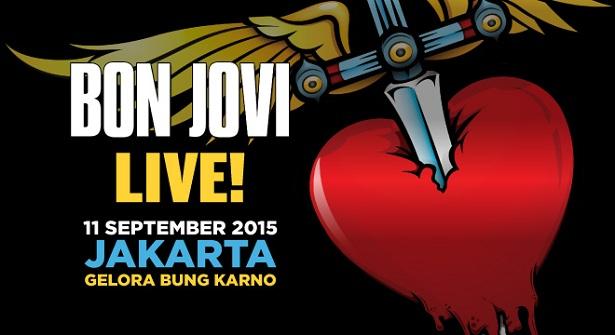 Bon Jovi Live Concert Jakarta