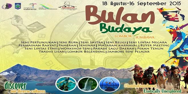 Bulan Budaya Lombok Sumbawa 2015