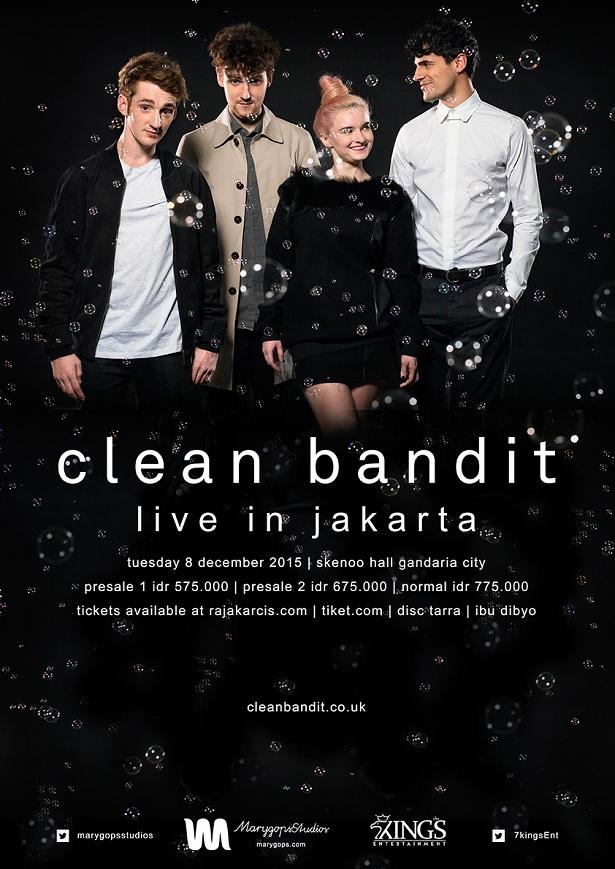 Clean Bandit Live In Jakarta