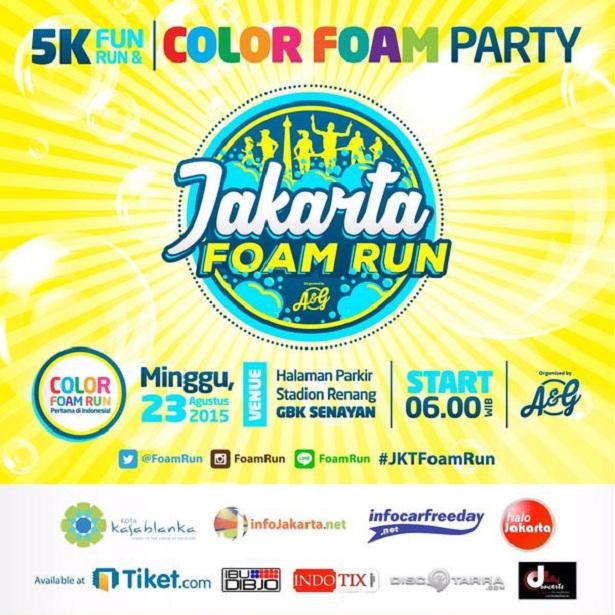 Jakarta Foam Run