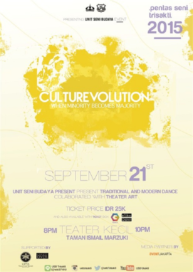 Culturevolution - Pentas Seni Trisakti 2015