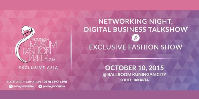 Indonesia Muslim Fashion Week 2015