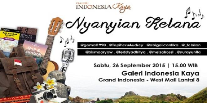 Nyanyian Kelana Galeri Indonesia Kaya