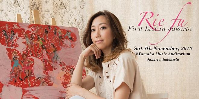 Rie Fu First Live in Jakarta