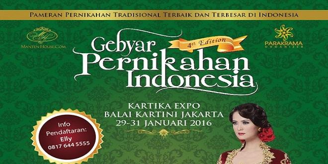 Gebyar Pernikahan Indonesia 2016
