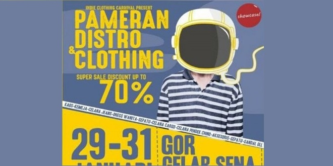 Pameran Distro & Clothing Klaten