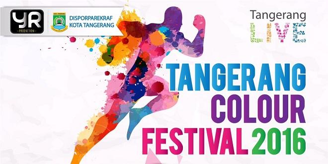 Tangerang Colour Run Festival 2016