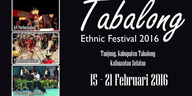 Tabalong Ethnic Festival 2016