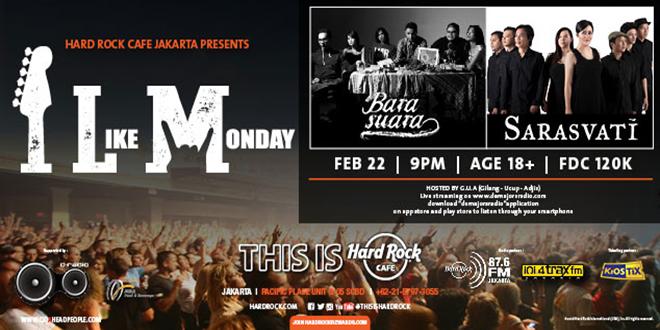 Hard Rock Cafe I Like Monday