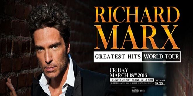 Richard Marx Greatest Hits World Tour Live In Jakarta