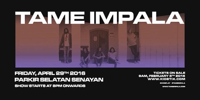 Tame Impala Live in Jakarta