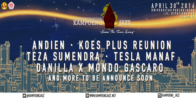 The 8th International Kampoeng Jazz