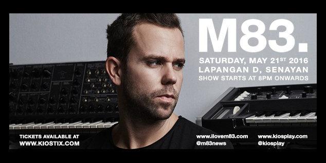 M83 Live in Jakarta