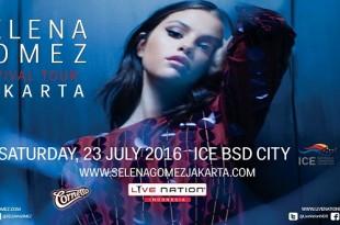 Selena Gomez Revival Tour Jakarta